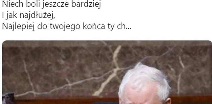 Wielki powrót 'Rudej z KOD'! Życzenia dla Kaczyńskiego: 'Boli? Ma boleć, ty ch....' - zdjęcie
