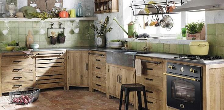 Kuchnia retro - vintage w twoim domu - zdjęcie