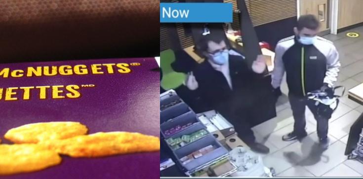 Wyrok za napaść na bar McDonald's z ,,bronią'' w ręku i kradzież... McNuggetsów - zdjęcie
