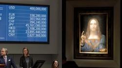 Niebotyczna cena za obraz Jezusa Zbawiciela padła w Nowym Jorku. Nigdy nikt tyle nie zapłacił! - miniaturka