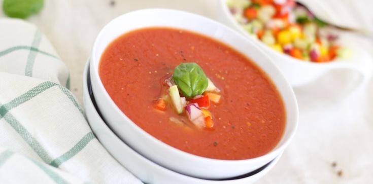 Gazpacho - wyśmienity hiszpański chłodnik z pomidorów - zdjęcie