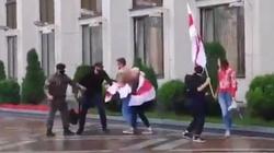 Białoruscy studenci rok akademicki rozpoczęli od spacyfikowanego przez OMON protestu  - miniaturka
