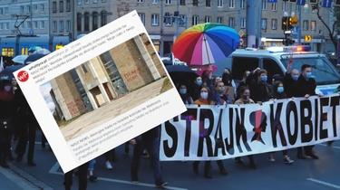 Aborcjoniści dewastują kościoły. Eskalacja lewicowej agresji - miniaturka