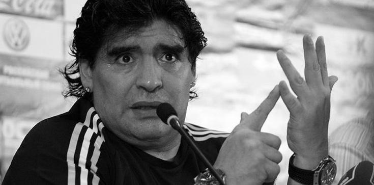 Zmarł Diego Armando Maradona - zdjęcie