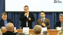 Tęczowa prowokacja podczas konferencji w Krakowie - miniaturka
