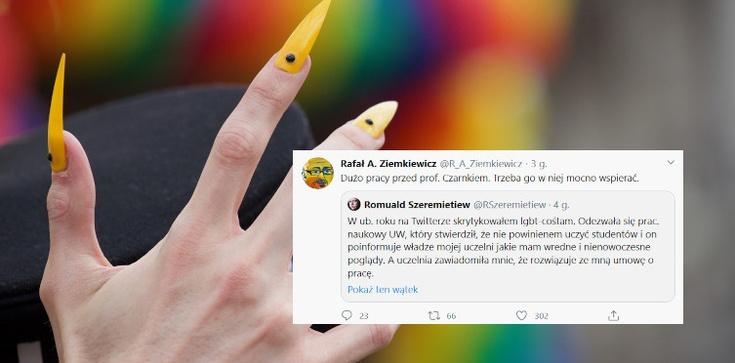 Prof. Szeremietiew skrytykował LGBT. Został zwolniony z pracy - zdjęcie