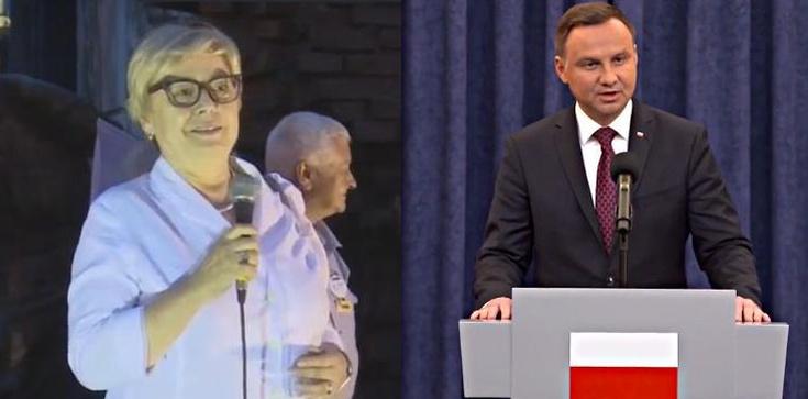 'To całkowita nieprawda' Prof. Gersdorf odpowiada prezydentowi - zdjęcie