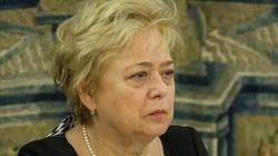 Małgorzata Gersdorf: Toga jest jak fartuszek w przedszkolu - miniaturka