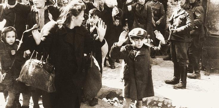Dziś 78. rocznica wybuchu powstania w getcie warszawskim - zdjęcie