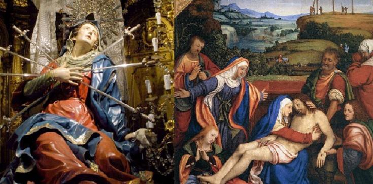 Dziś odmów Koronkę do Siedmiu Boleści Maryi - zdjęcie