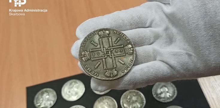 Na granicy polsko-ukraińskiej celnicy udaremnili przemyt monet z XVIII i XIV w.  - zdjęcie
