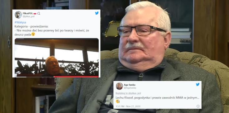 Hit! Nowa perełka Wałęsy. ,,Plusy ujemne'' przy tym to nic   - zdjęcie