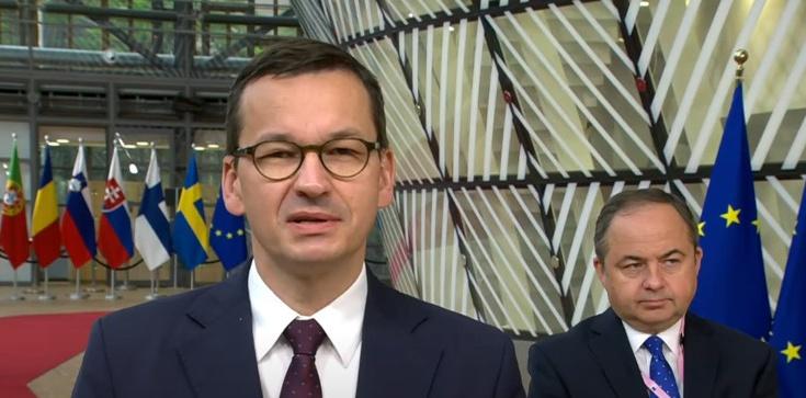 Nocne rozmowy premiera Morawieckiego na szczycie UE - zdjęcie
