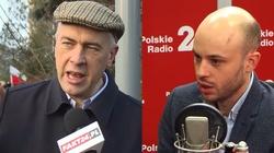 """''Pisowski Lizusie'' kontra """"ONRowski agitatorze"""" - ostra wymiana zdań pomiędzy Giertychem i Śpiewakiem - miniaturka"""
