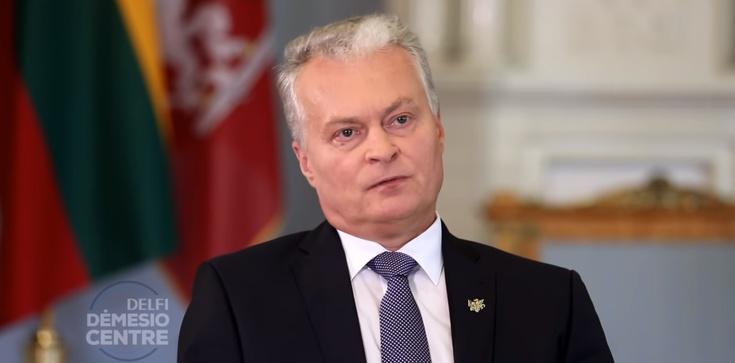 Prezydent Litwy nie poleci do Izraela. Wybrał Polskę - zdjęcie