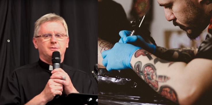 Ks. Piotr Glas: Jesteś katolikiem? Nie rób tatuaży! Otwierasz furtkę złu! - zdjęcie