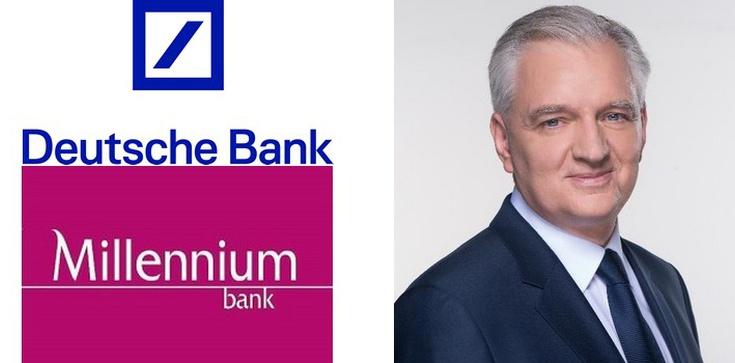 Jarosław Gowin: Pora wykupić zagraniczne banki w Polsce! - zdjęcie