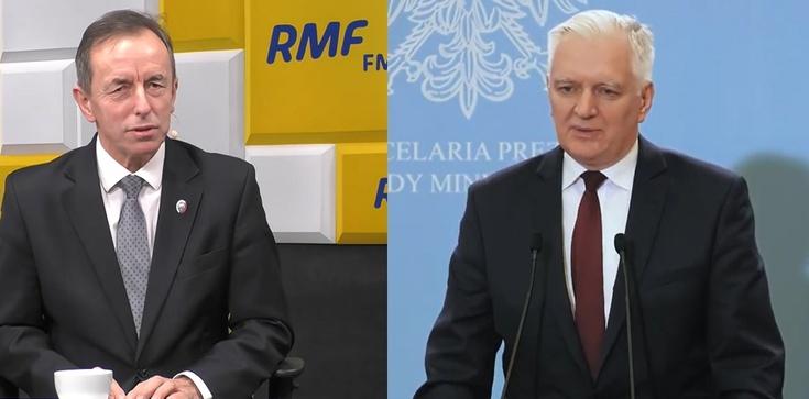 Polityk opozycji: Kaczyńskiemu, ale i Gowinowi nie ufamy. Gowin spotkał się z Grodzkim - zdjęcie