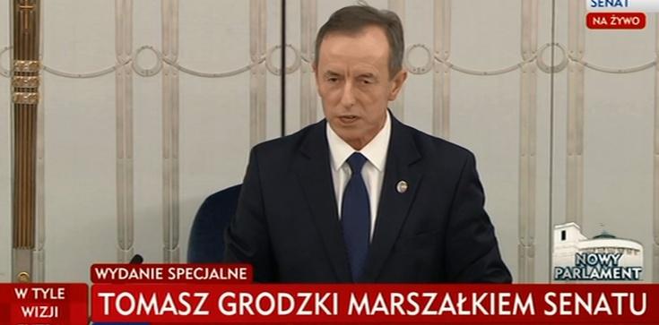 Tomasz Grodzki marszałkiem Senatu - zdjęcie