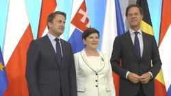 Trwają rozmowy Grupy Wyszehradzkiej z krajami Beneluksu - miniaturka