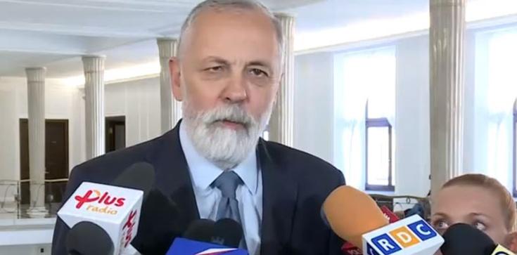 Chamskie słowa Grupińskiego o Macierewiczu: Uprawia politykę na grobach ofiar - zdjęcie