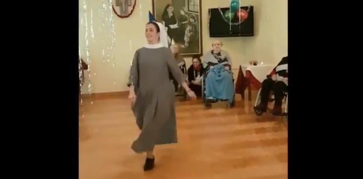 To nagranie musisz zobaczyć! Stepująca zakonnica podbija serca - zdjęcie