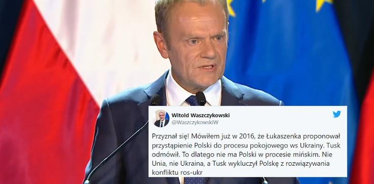 W. Waszczykowski: Nie Unia, nie Ukraina, a Tusk wykluczył Polskę z rozwiązywania konfliktu na Ukrainie  - zdjęcie