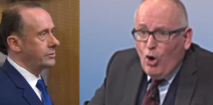 'Głupi chłopak!' Timmermans kontra brytyjski wiceminister - zdjęcie