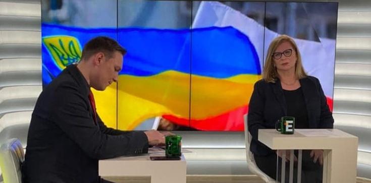 ,,Ukrainy nie pozostawimy samej''. Wicemarszałek Gosiewska udaje się do Donbasu - zdjęcie