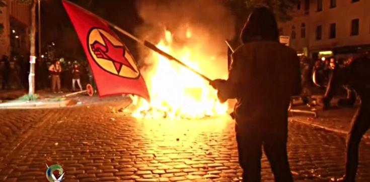 Lewacy z Polski podpalali Hamburg!!! - zdjęcie