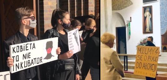 Feministki atakują Kościół. W całej Polsce zakłócają Msze, dewastują kościoły… - miniaturka