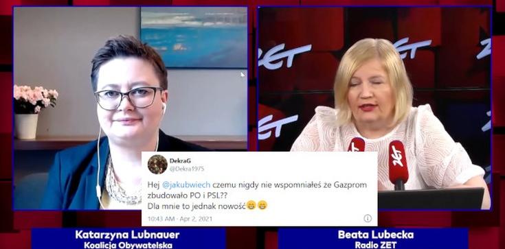 Ona tak na serio? ,,Albo bezpieczeństwo, albo niskie koszty'' – Lubnauer z miłością o... Gazpromie - zdjęcie