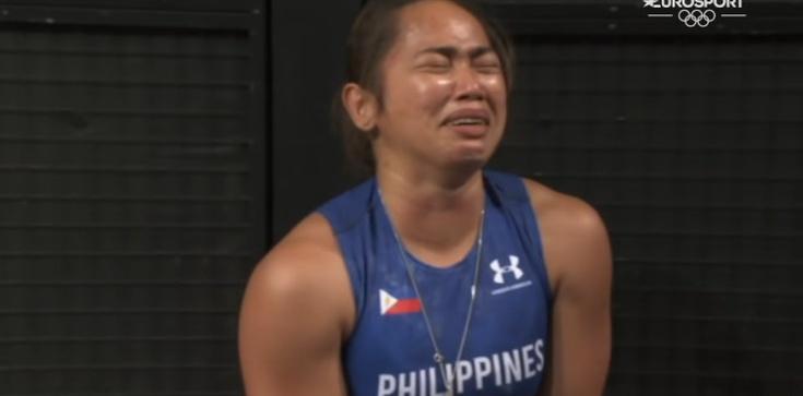 Obok medalu zawiesiła medalik. Olimpijka podziękowała Bogu  - zdjęcie