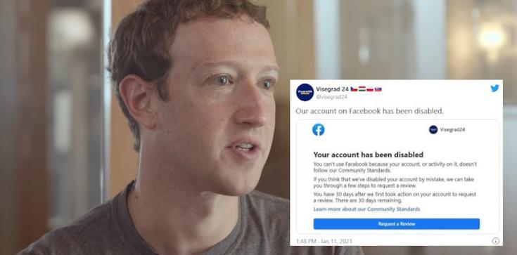 Skandal! Facebook zablokował profil V4 - zdjęcie