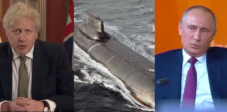 Rosyjskie okręty podwodne okrążają wybrzeże UK  - zdjęcie