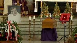 Pogrzeb o. Macieja Zięby. Duchowny pośmiertnie odznaczony przez prezydenta  - miniaturka