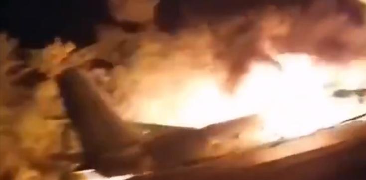 Katastrofa samolotu nad Ukrainą. Nie żyje ponad 20 osób - zdjęcie