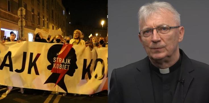 Ks. Szymik do uczestników Strajku Kobiet: Mówię z całą miłością – nawróćcie się! - zdjęcie