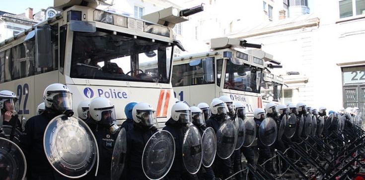 Demonstracja w Brukseli. Zatrzymanych blisko 500 osób - zdjęcie