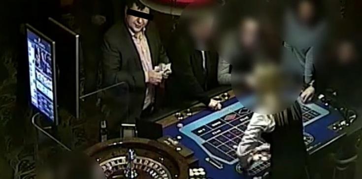 Tak Zbigniew S. bawił się w kasynie. Wyciekło nagranie - zdjęcie