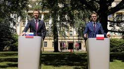 Morawiecki po spotkaniu z premierem Słowacji ws. Trójmorza: Mamy wspólne interesy, cele i priorytety - miniaturka