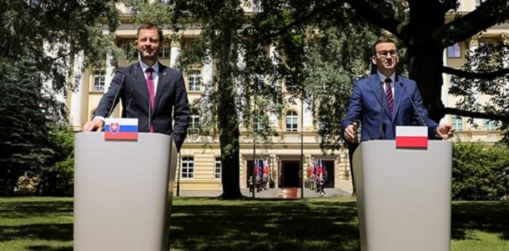 Morawiecki po spotkaniu z premierem Słowacji ws. Trójmorza: Mamy wspólne interesy, cele i priorytety - zdjęcie