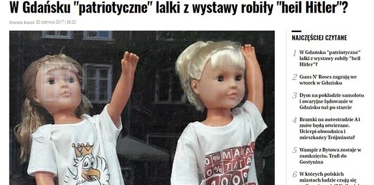 GW straszy lalkami, które 'robią Heil Hitler' - zdjęcie