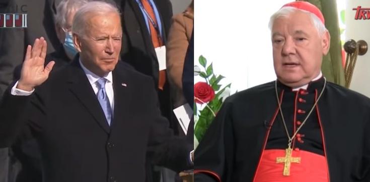 Kard. Müller: Biden stoi na czele programu dechrystianizacji Zachodu - zdjęcie