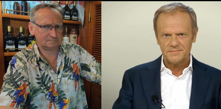 Cejrowski ostro o szefie EPL: ,,chłystek Donald Tusek''  - zdjęcie