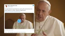 Franciszek: Musimy stworzyć prawo o związkach cywilnych [WIDEO] - miniaturka