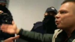 Pseudodziennikarz do policjanta: ,,Jesteś k***a wyrzucony!'' [WIDEO] - miniaturka