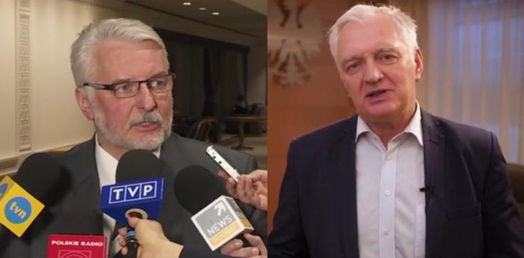Mocne słowa Waszczykowskiego: Gowin prezentuje receptę na upadek rządu  - zdjęcie