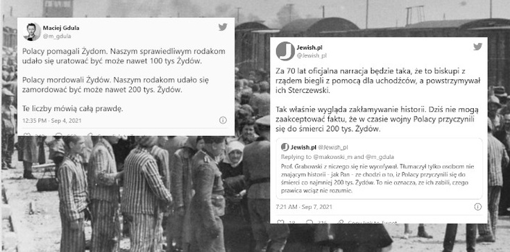 ,,Polacy przyczynili się do śmierci co najmniej 200 tys. Żydów''. Obrzydliwy wpis Jewish.pl  - zdjęcie