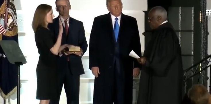 Zwycięstwo Trumpa! Amy Barrett sędzią SN USA - zdjęcie